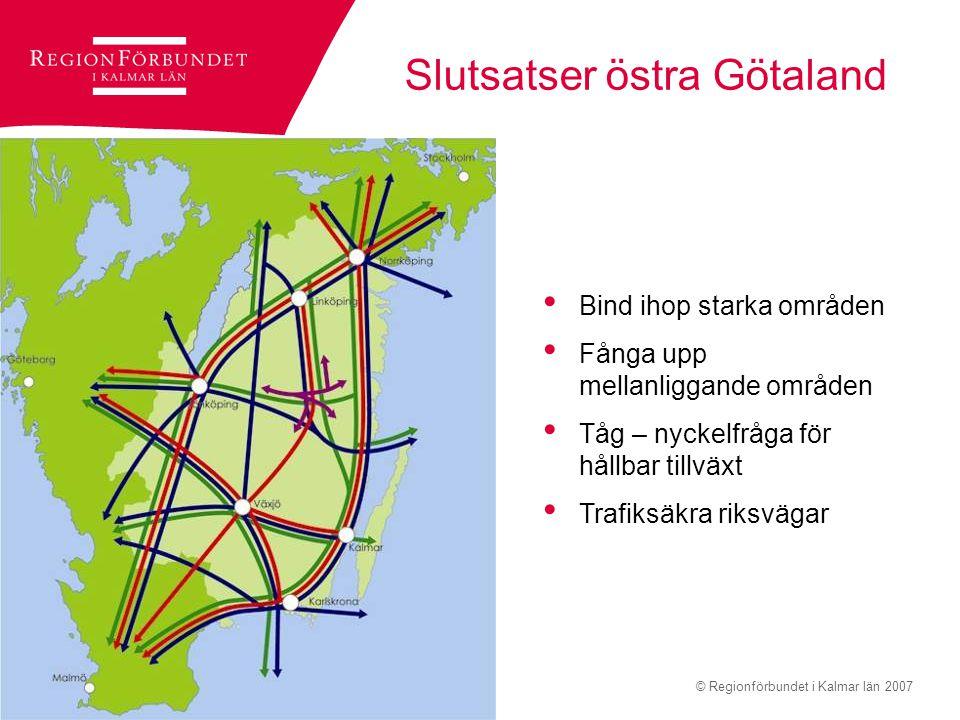 Slutsatser östra Götaland