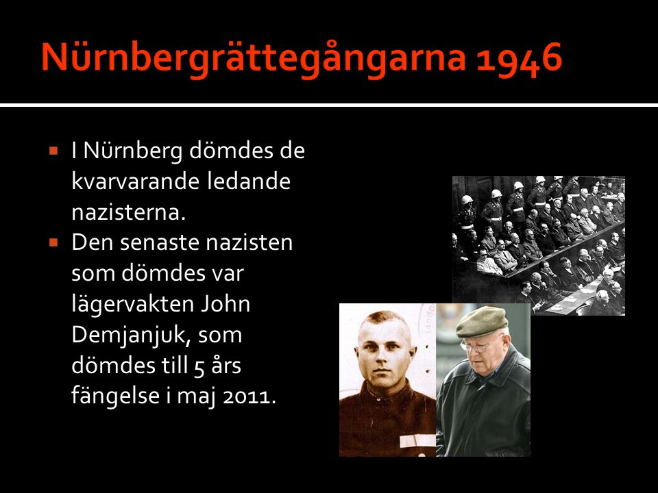 Nürnbergrättegångarna 1946