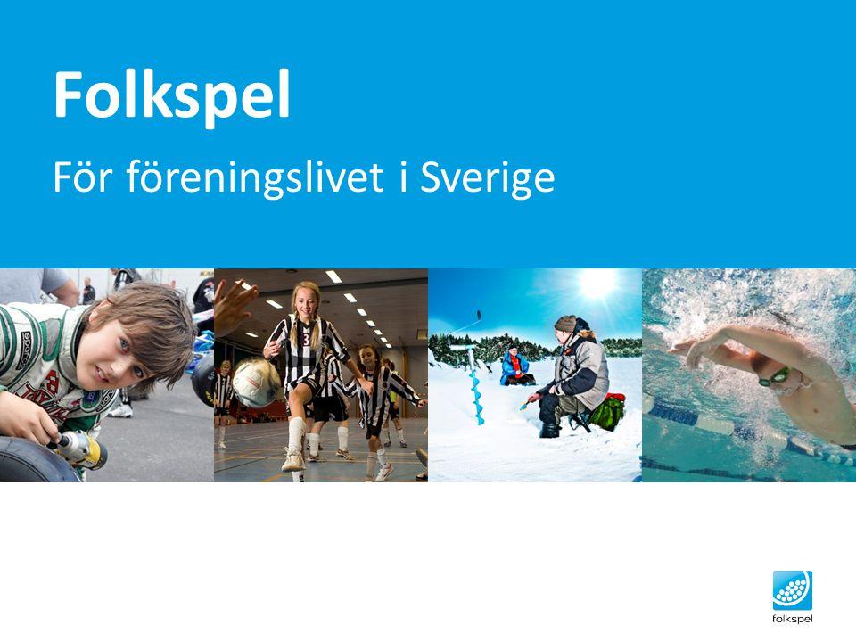 För föreningslivet i Sverige