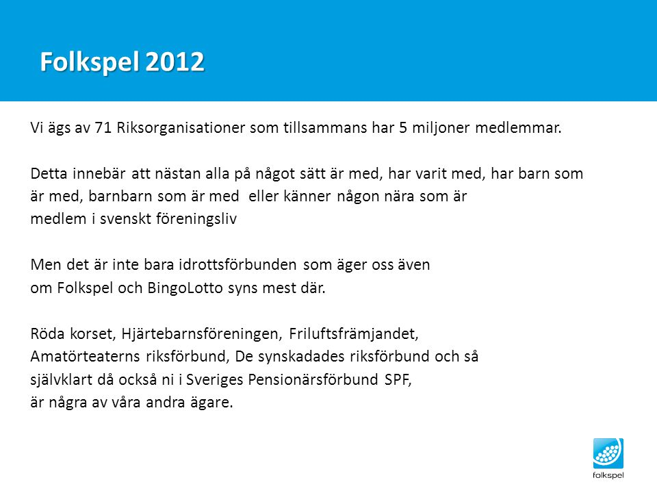 Folkspel 2012
