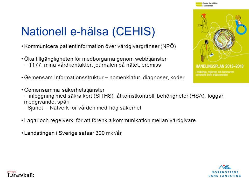 Nationell e-hälsa (CEHIS)