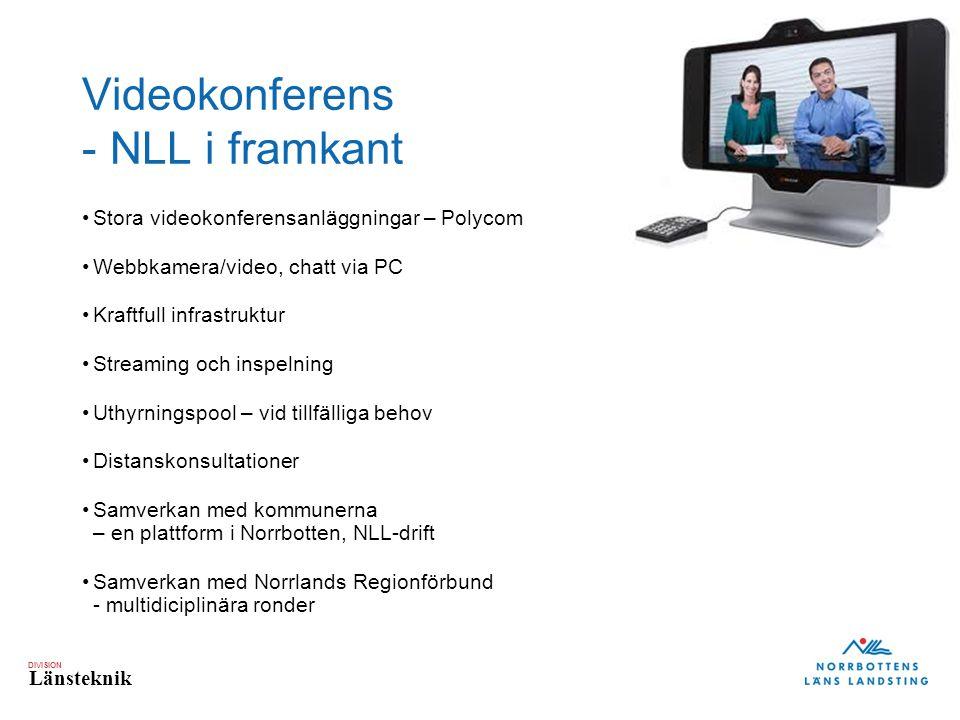 Videokonferens - NLL i framkant