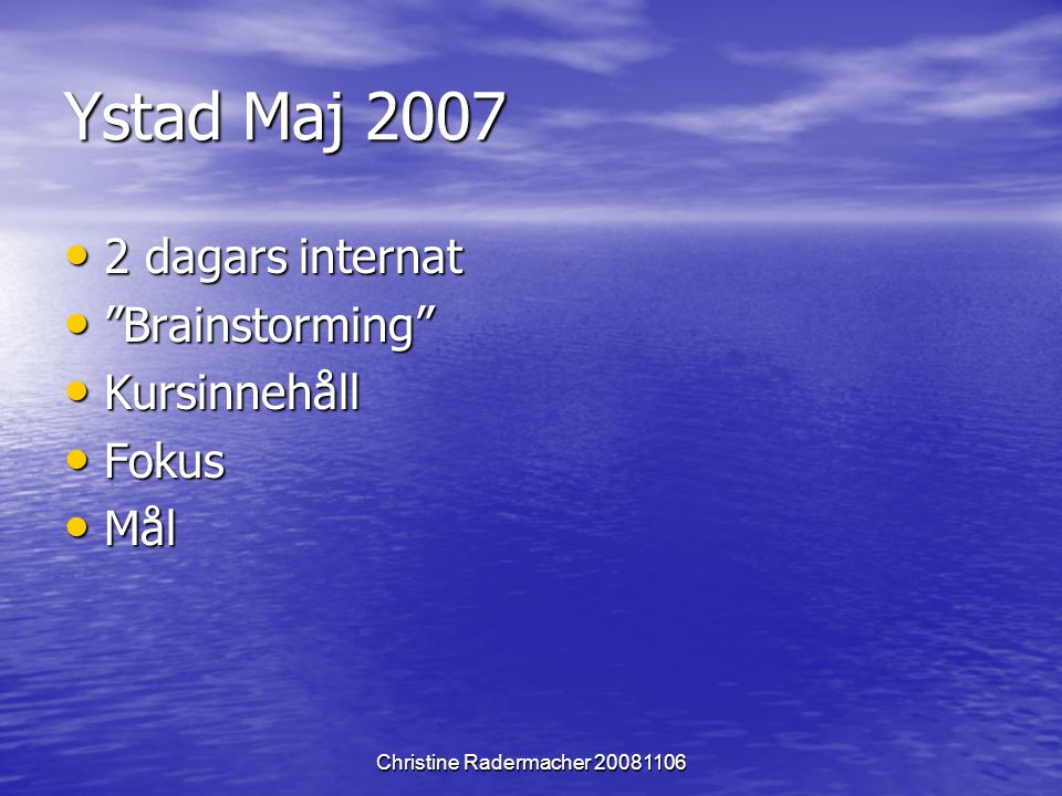 Christine Radermacher 20081106