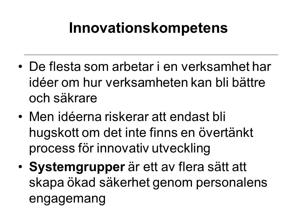 Innovationskompetens