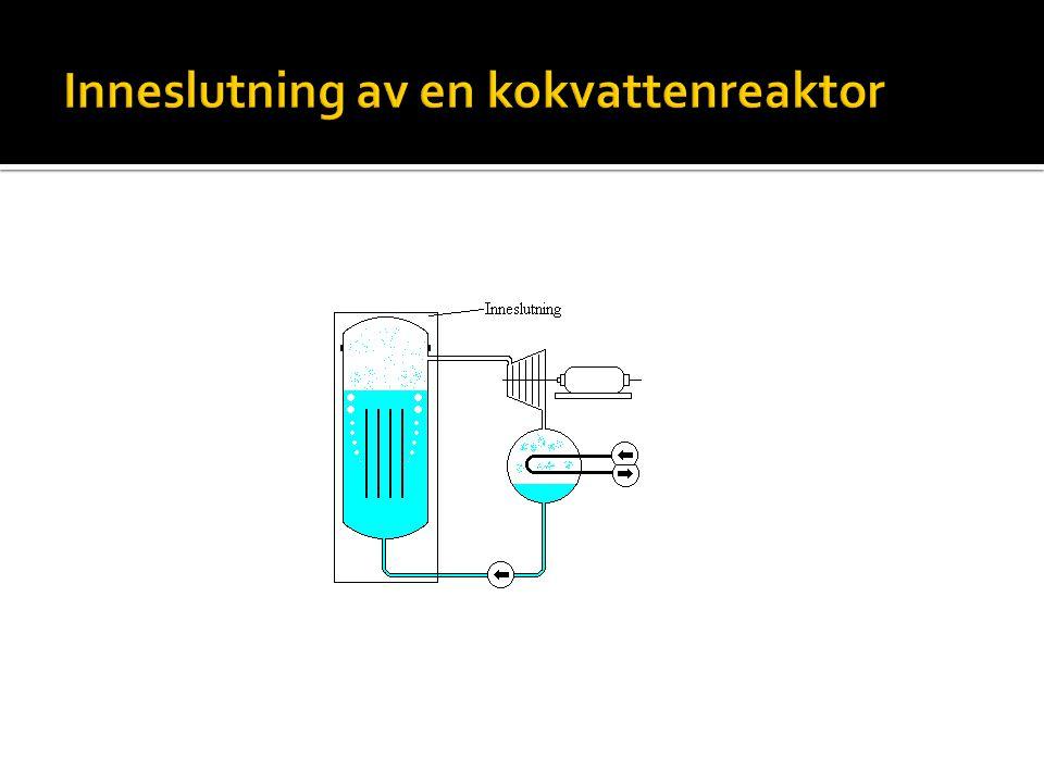 Inneslutning av en kokvattenreaktor