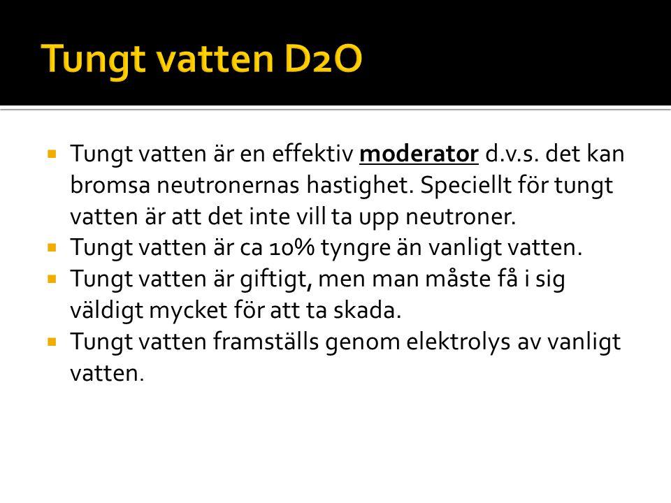 Tungt vatten D2O