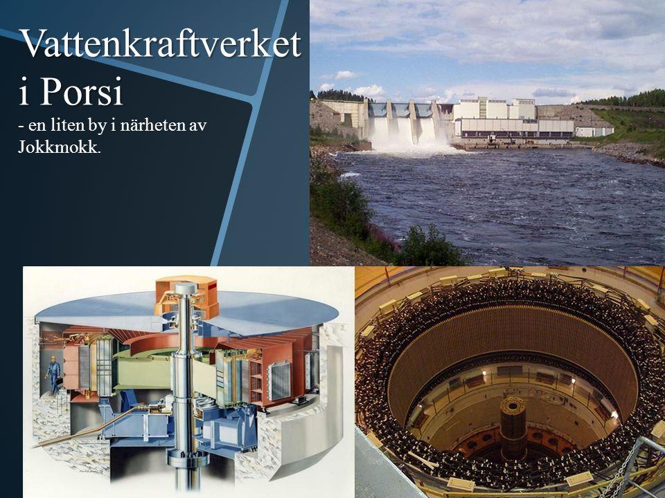 Vattenkraftverket i Porsi