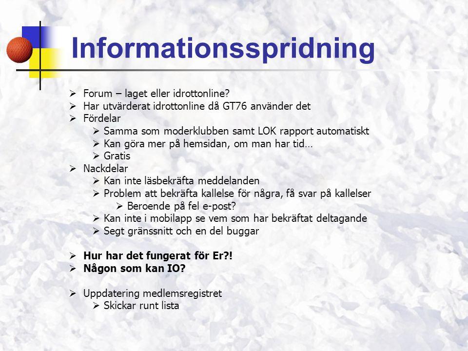Informationsspridning