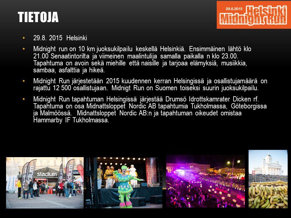 TIETOJA 29.8. 2015 Helsinki.
