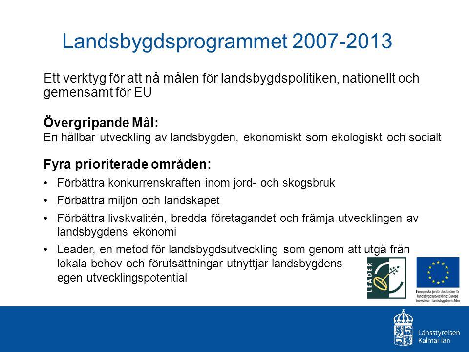 Landsbygdsprogrammet 2007-2013