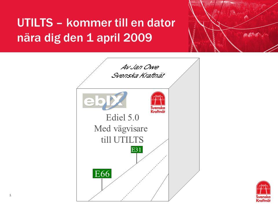 UTILTS – kommer till en dator nära dig den 1 april 2009