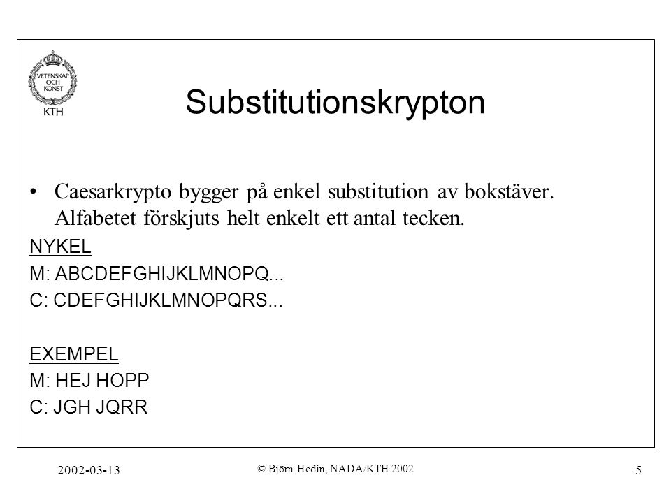 Substitutionskrypton