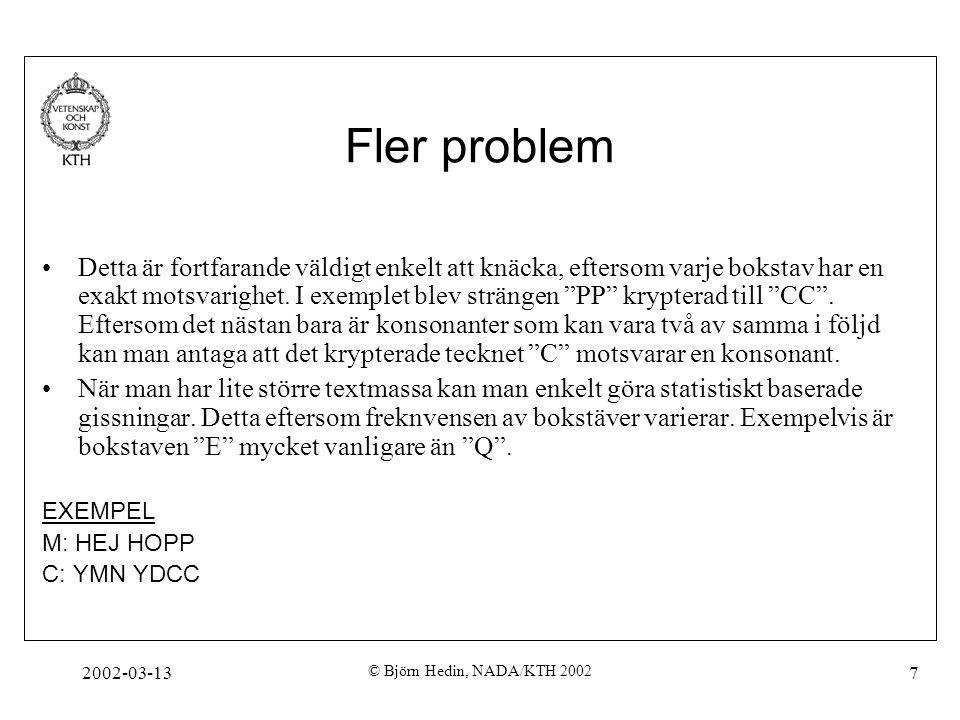 Fler problem