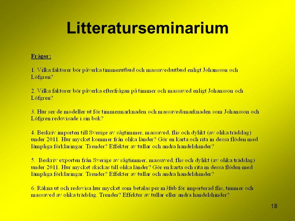 Litteraturseminarium