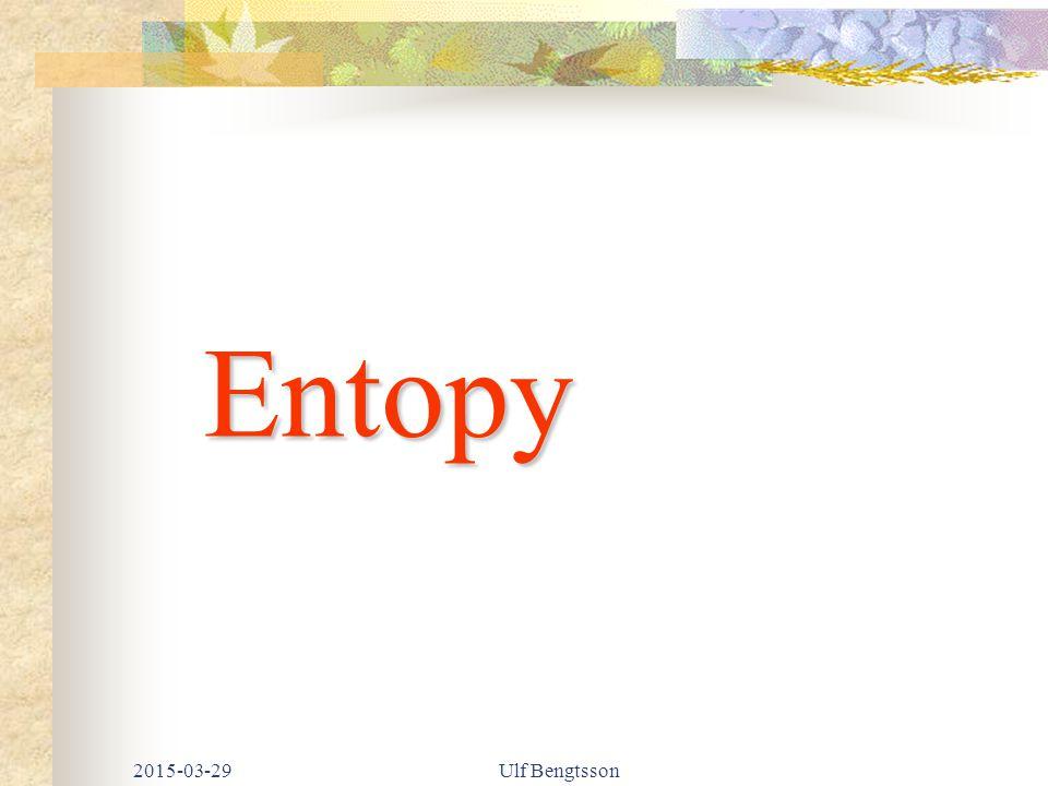 Entopy 2017-04-08 Ulf Bengtsson