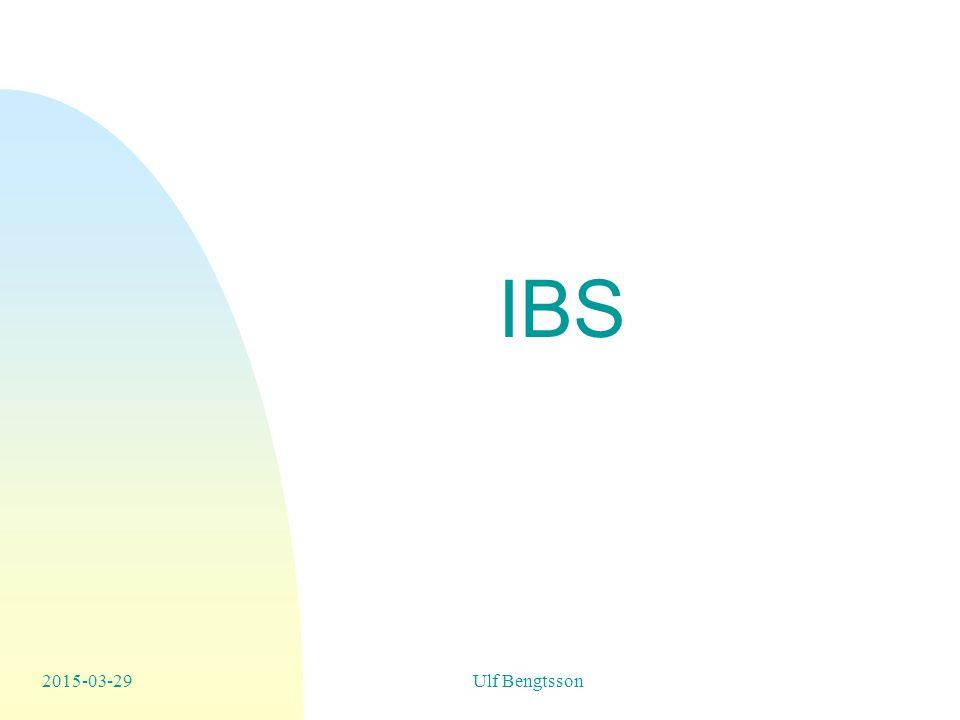 IBS 2017-04-08 Ulf Bengtsson