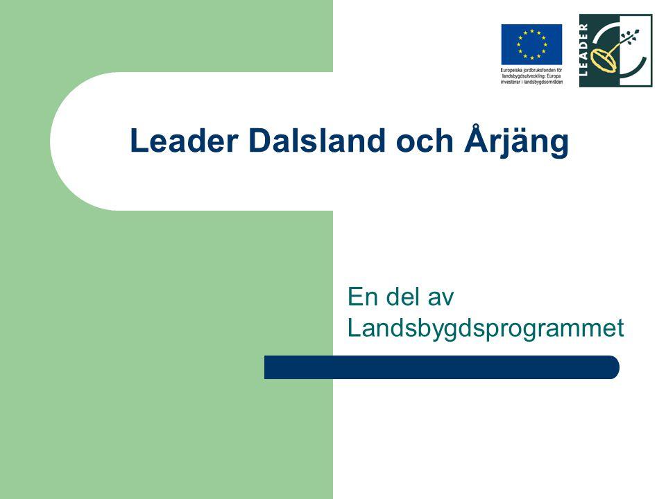 Leader Dalsland och Årjäng