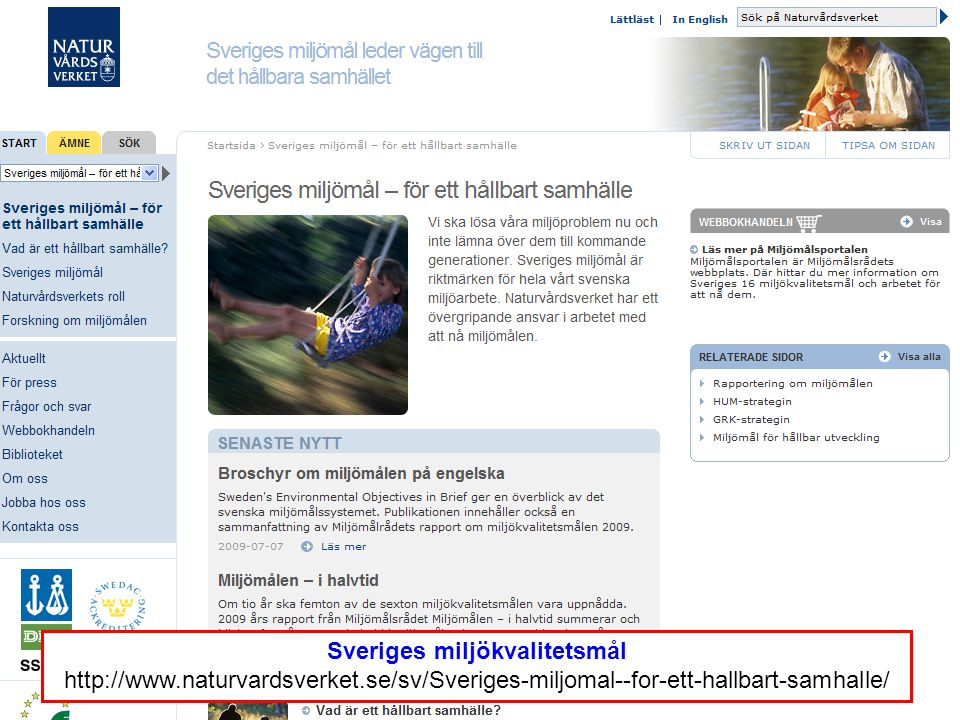 Sveriges miljökvalitetsmål