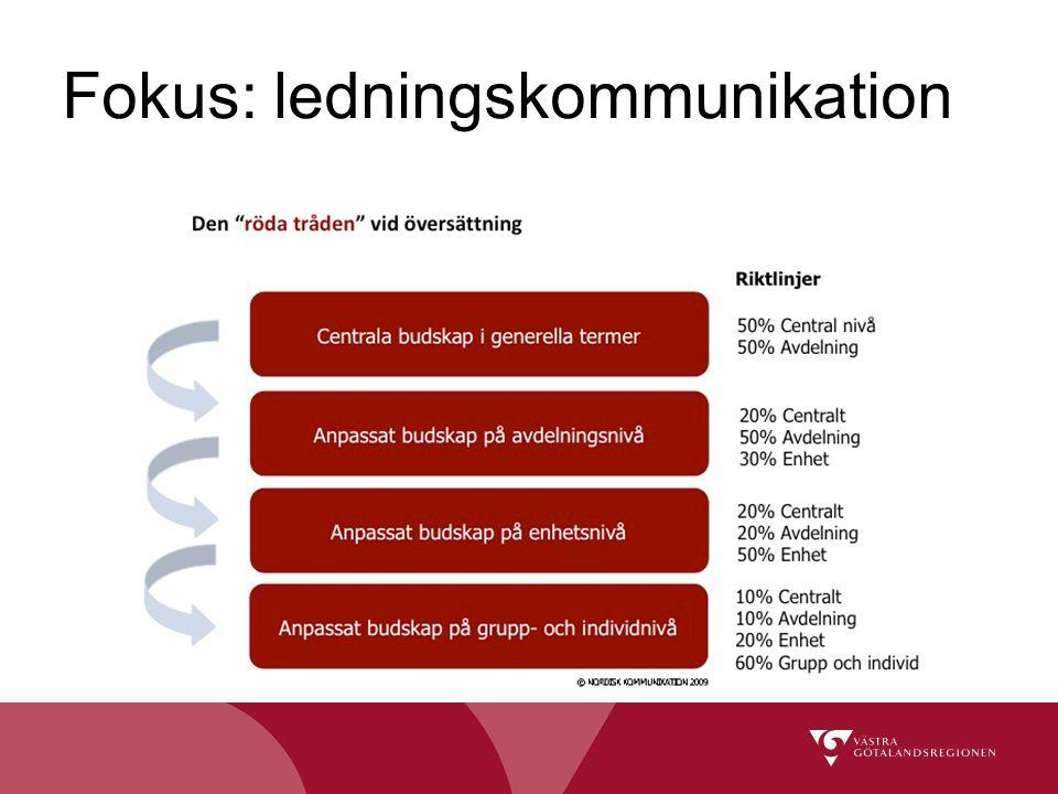 Fokus: ledningskommunikation