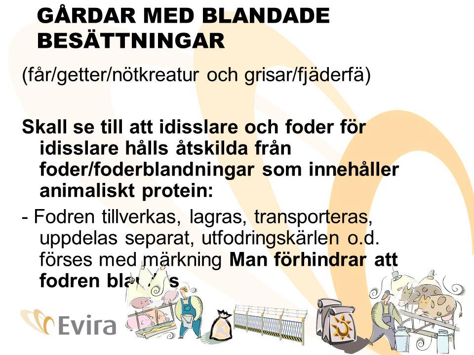 GÅRDAR MED BLANDADE BESÄTTNINGAR