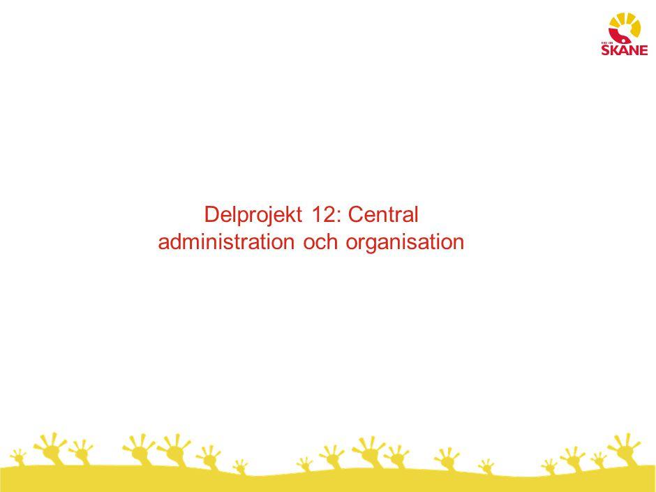 Dagens organisationsmodell kännetecknas av utmaningar