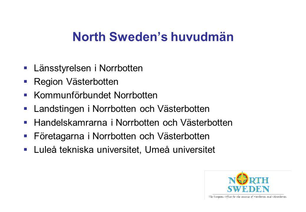 North Sweden's huvudmän