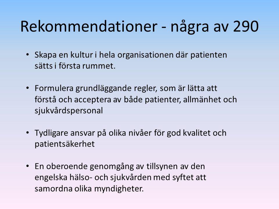 Rekommendationer - några av 290