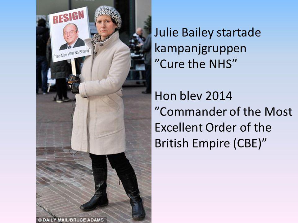 Julie Bailey startade kampanjgruppen
