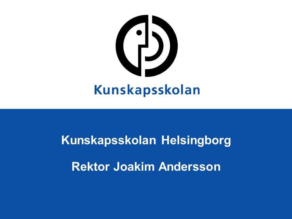 Kunskapsskolan Helsingborg Rektor Joakim Andersson