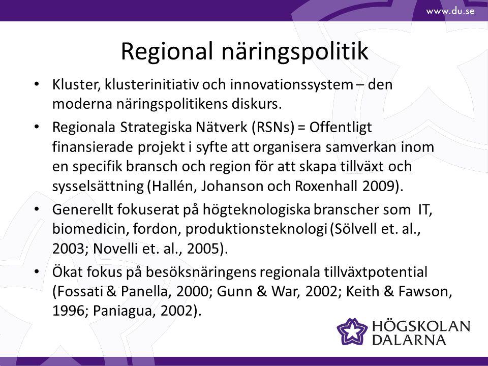 Regional näringspolitik