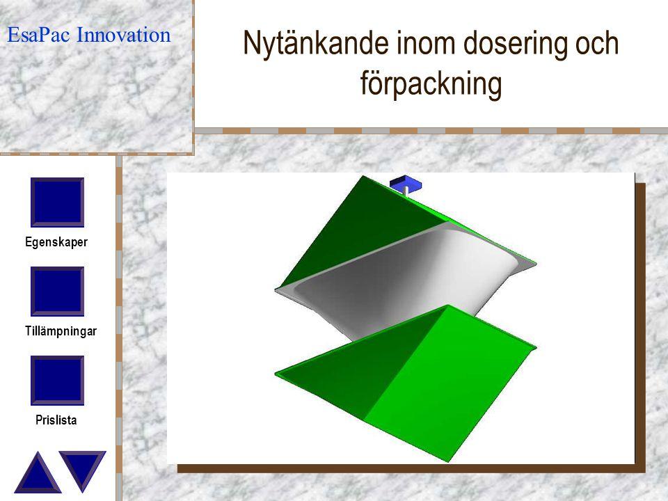 Nytänkande inom dosering och förpackning