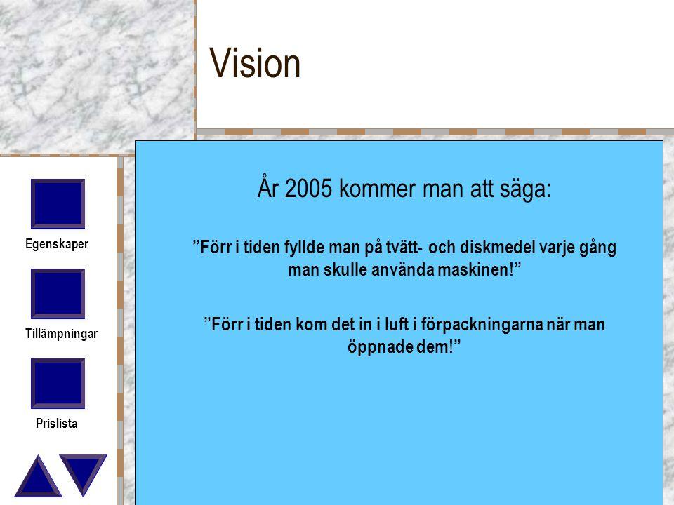 Vision År 2005 kommer man att säga: