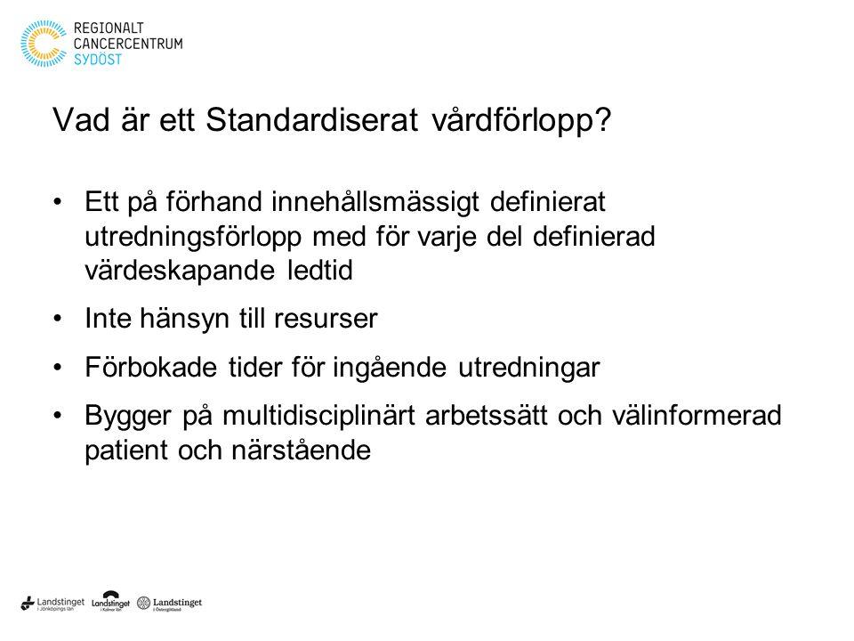 Vad är ett Standardiserat vårdförlopp