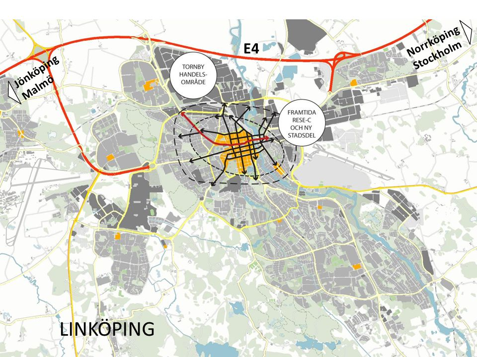 LINKÖPING E4 Norrköping Stockholm Jönköping Malmö