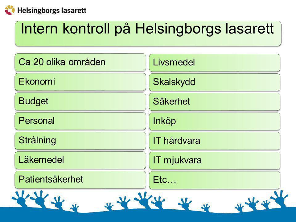 Intern kontroll på Helsingborgs lasarett