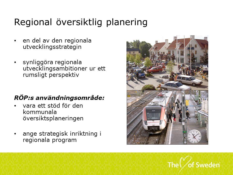 Regional översiktlig planering