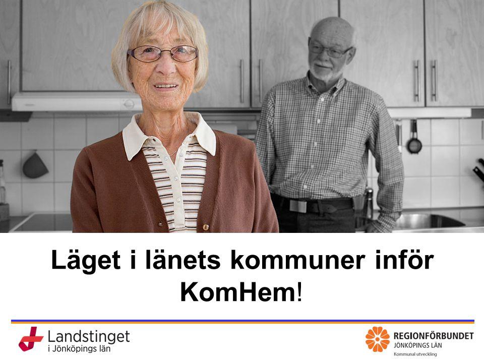 Läget i länets kommuner inför KomHem!