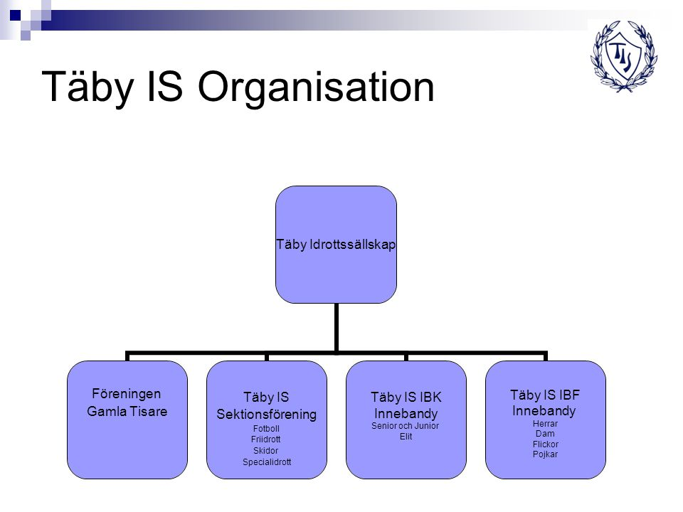 Täby IS Organisation