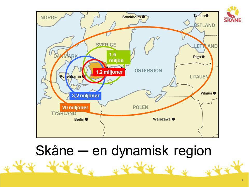 Skåne ─ en dynamisk region