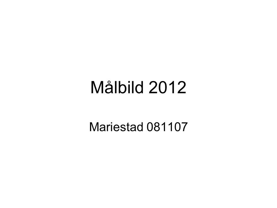 Målbild 2012 Mariestad 081107