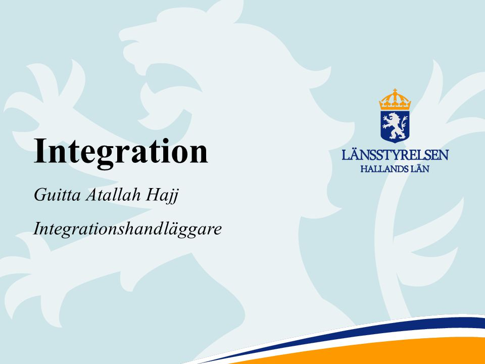 Integration Guitta Atallah Hajj Integrationshandläggare