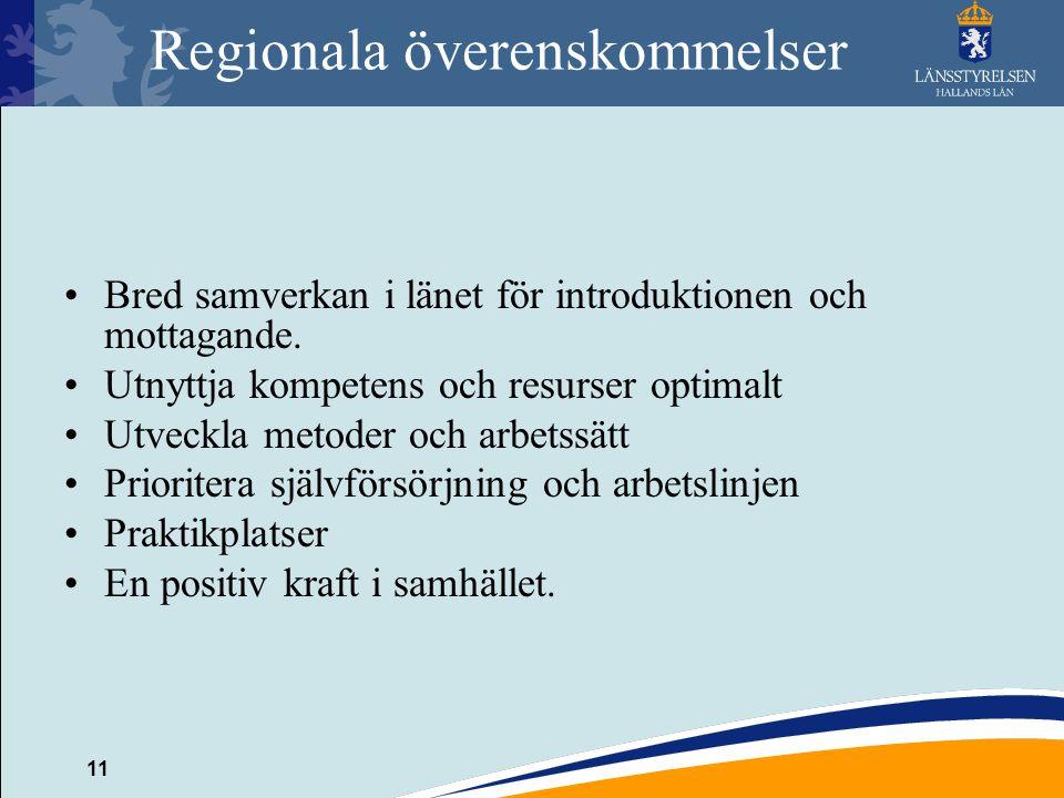 Regionala överenskommelser