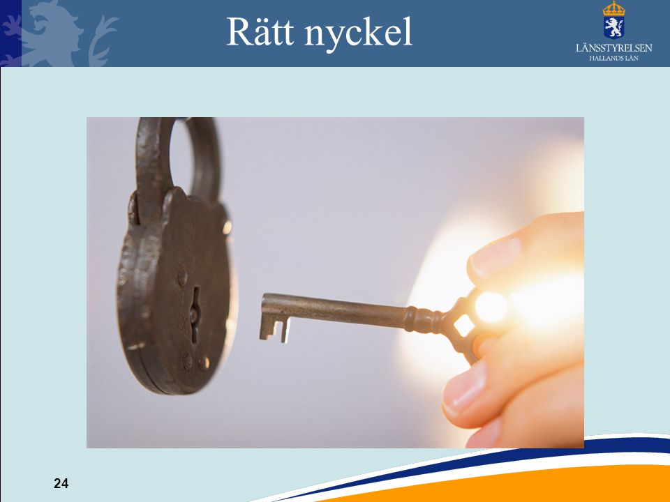 Rätt nyckel