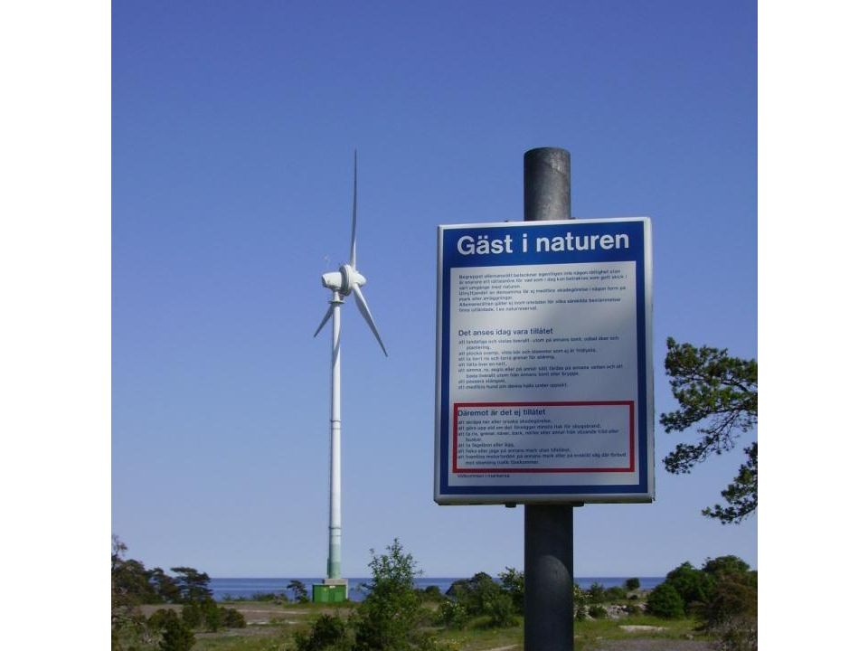 Att tänka på vid etablering av vindkraft så är vindkraftverken bara en gäst i naturen.