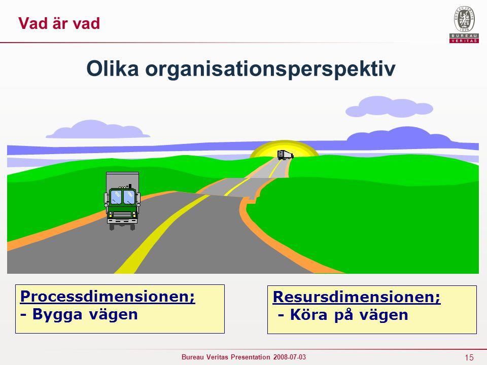 Olika organisationsperspektiv
