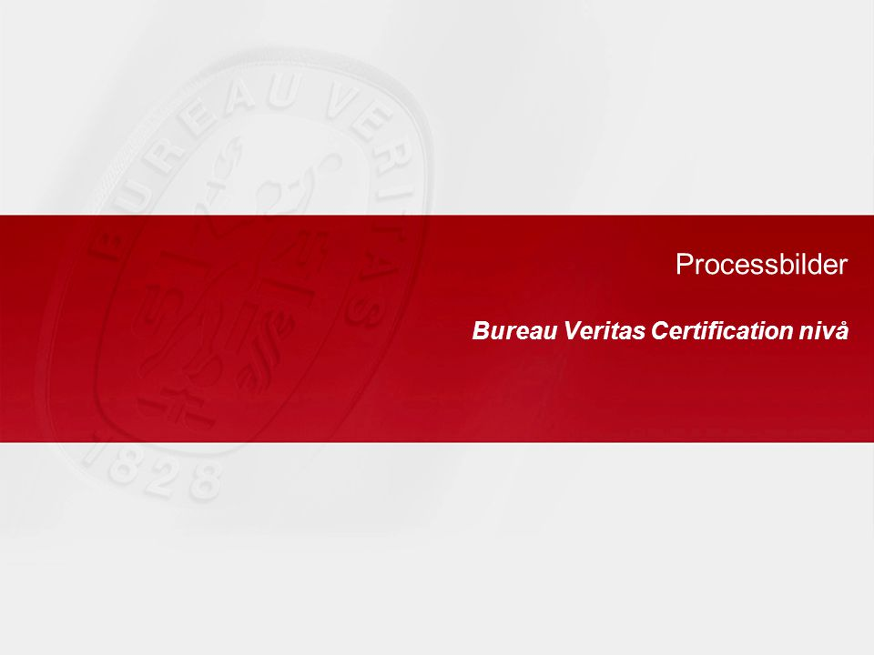 Bureau Veritas Certification nivå