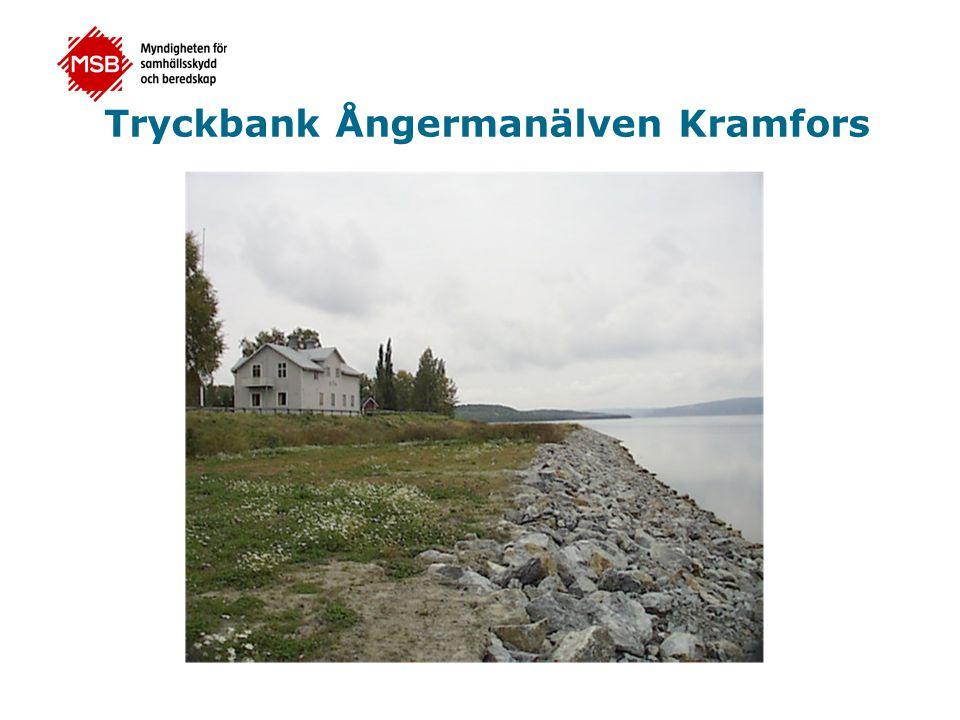 Tryckbank Ångermanälven Kramfors