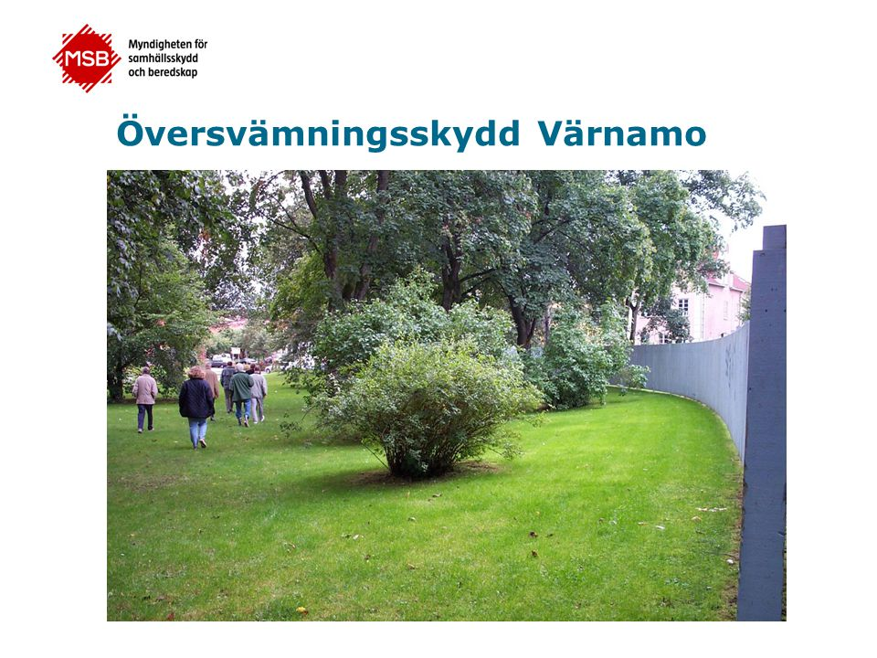 Översvämningsskydd Värnamo
