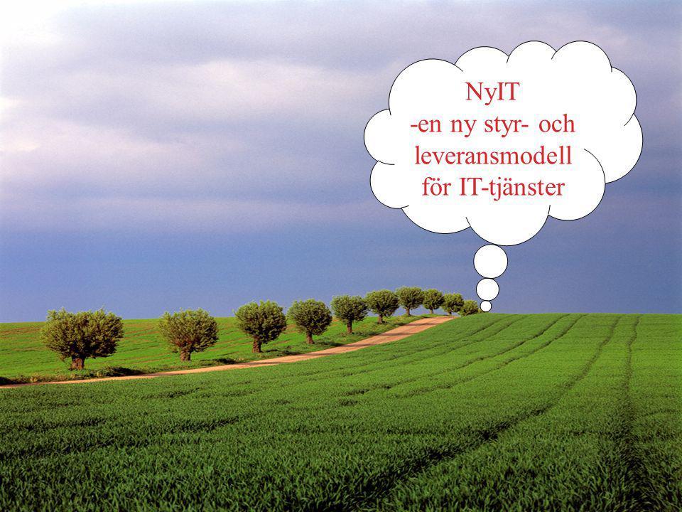 NyIT -en ny styr- och leveransmodell för IT-tjänster