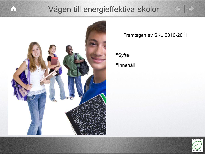 Vägen till energieffektiva skolor